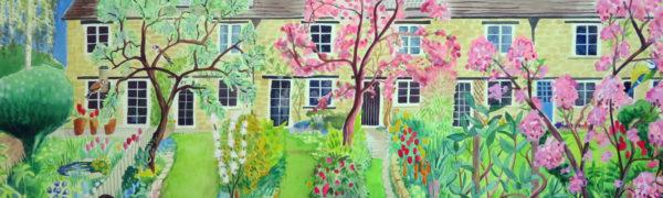 Spring garden patrol, Eynsham - banner