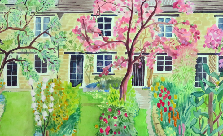 Signed prints of original paintings by Jane Tomlinson