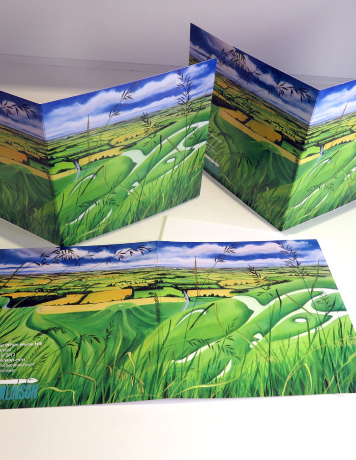 White Horse Hill Greetings Cards