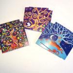 Winter Trees secular cards