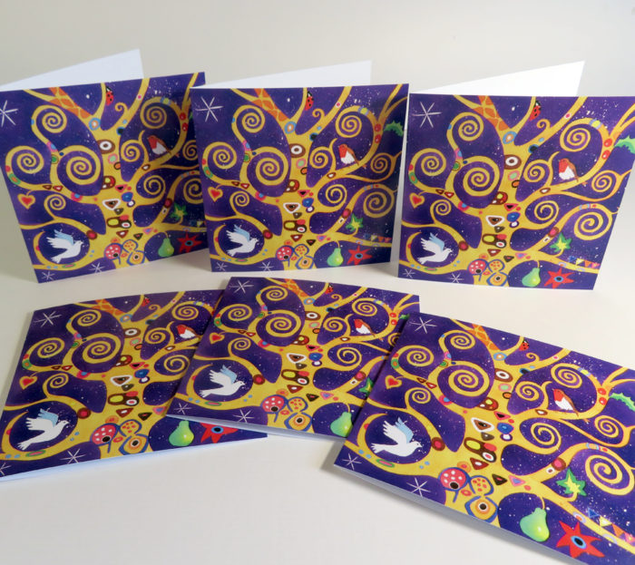 tree of life greetings cards