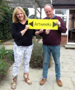 Jane ond Paul Tomlinson Oxfordshire artweeks artists