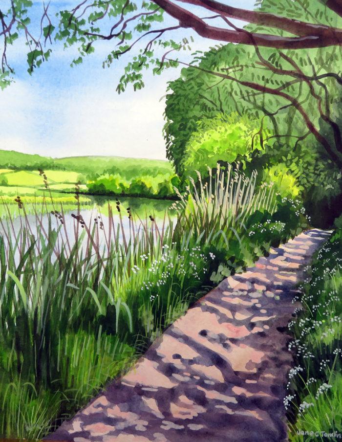 Thames Path near Farmoor, Oxfordshire
