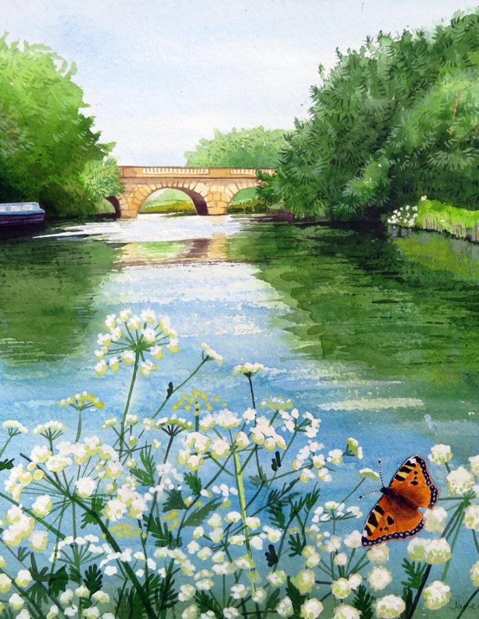 The Thames at Swinford Bridge