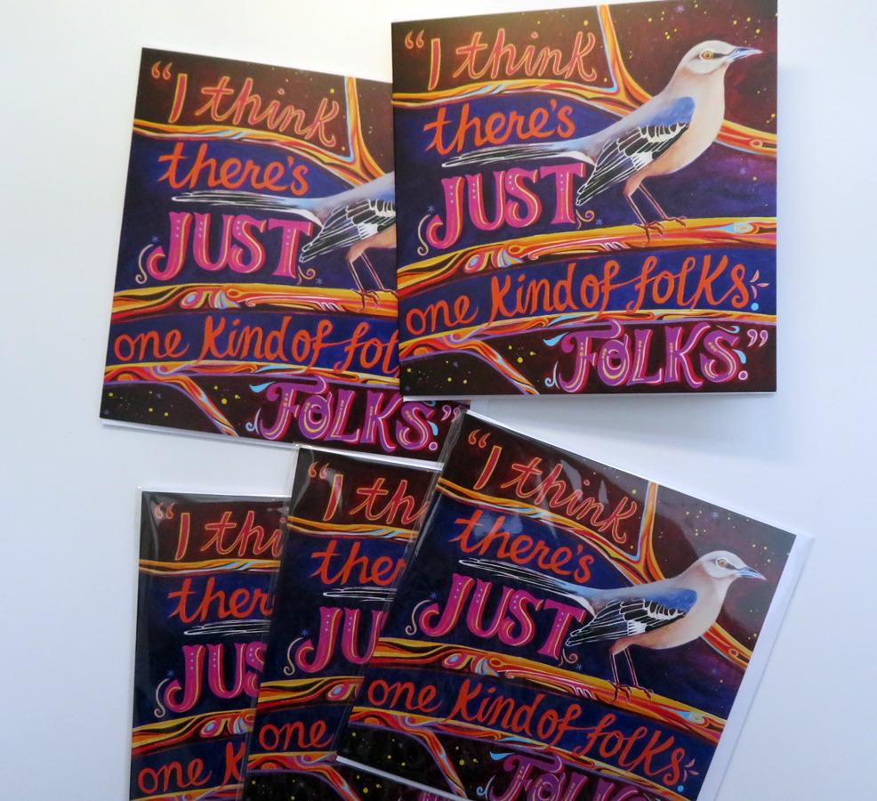 Mockingbird greetings cards
