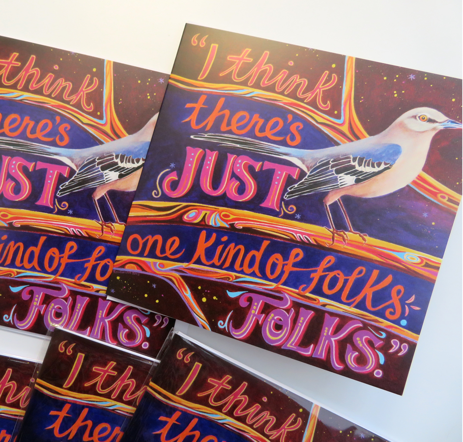 Mockingbird greetings cards