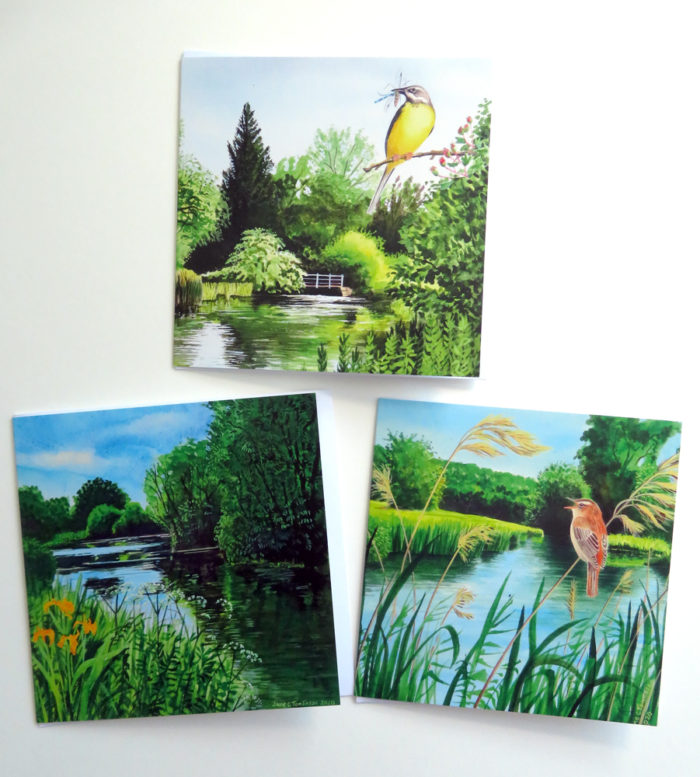 Rivers greetings cards