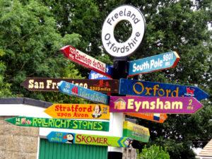 Freeland Signpost
