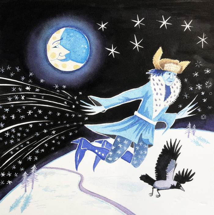 Jack Frost's Busy Night