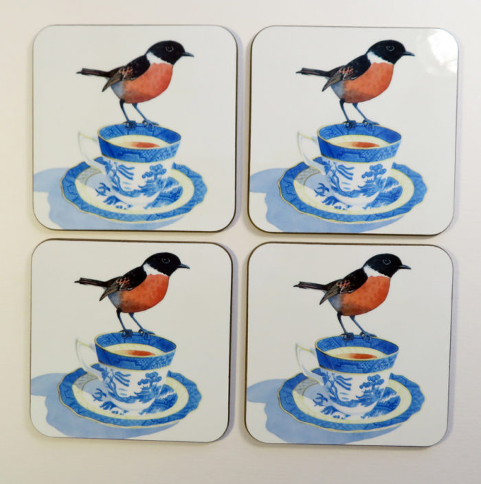 cup of tea and a chat coaster