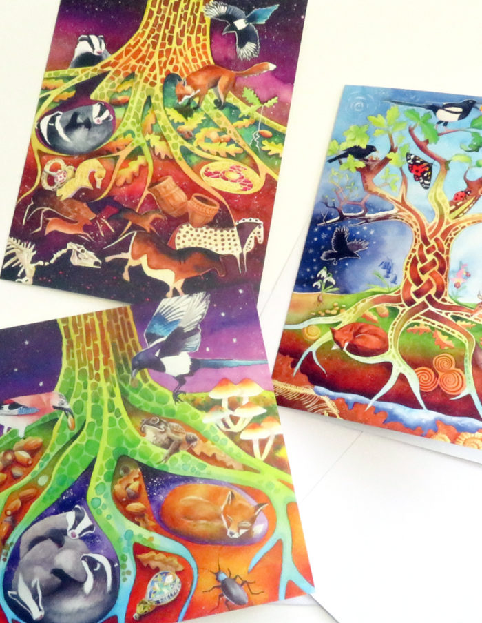 Greetings cards for treehuggers